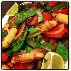 Stir Fry Veggies - such great colours!