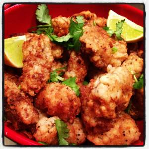 Salt and Pepper Squid - tasty and tender!